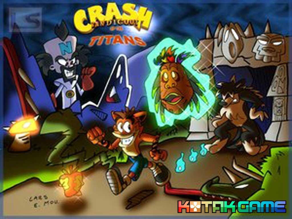 wallpaper nds crash bandicoot 3 warped kotakgame